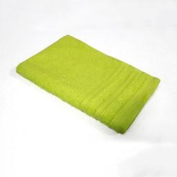 Serviette invite 30 x 50 cm eponge unie vitamine Anis
