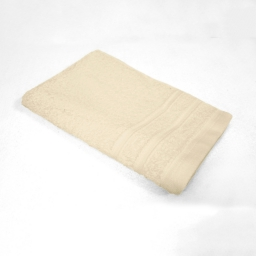 Serviette invite 30 x 50 cm eponge unie vitamine Naturel