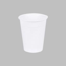 set 100 gobelets plastiques 20cl - blanc