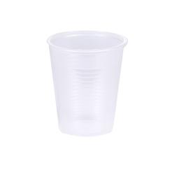 set 100 gobelets plastiques 20cl - transparent