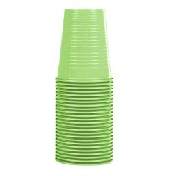 set 25 gobelets en ps 20cl - vert anis