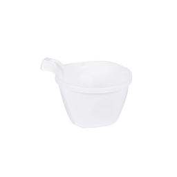 set 25 tasses cafe plastiques 17cl - blanc