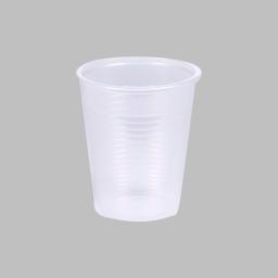 set 50 gobelets plastiques 20cl - transparent