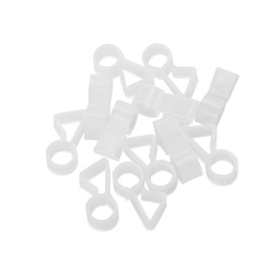 set de 24 anneaux de fixation-vendu en cross marketing-l4*ht1,8cm