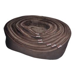 set de 9 paniers pour chien newton 40>80cm chocolat