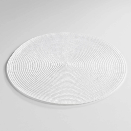 Set de table (0) 35 cm polypropylene zebulon Blanc