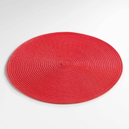 Set de table (0) 35 cm polypropylene zebulon Rouge
