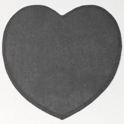 Set de table (0) 38 cm fibre papier coeur Anthracite