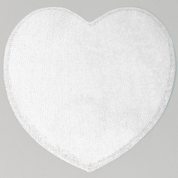Set de table (0) 38 cm fibre papier coeur Blanc