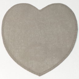 Set de table (0) 38 cm fibre papier coeur Lin