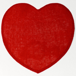 Set de table (0) 38 cm fibre papier coeur Rouge