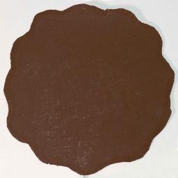 Set de table (0) 38 cm fibre papier fleur Choco