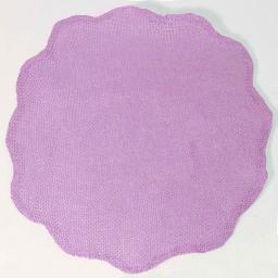 Set de table (0) 38 cm fibre papier fleur Lilas
