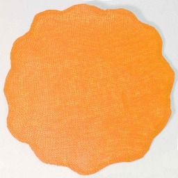 Set de table (0) 38 cm fibre papier fleur Orange