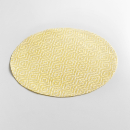 Set de table (0) 38 cm fibre papier losamo Jaune