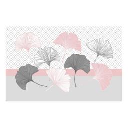 Set de table 28.5 x 43.5 cm pvc imprime 50/100e coquetterie Rose