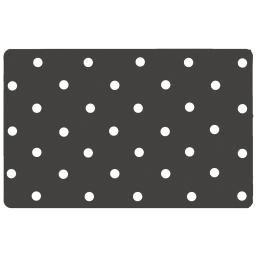 Set de table 28.5 x 44 cm polypropylene opaque lollypop Gris