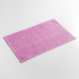 Set de table 30 x 45 cm fibre papier losamo Fuchsia