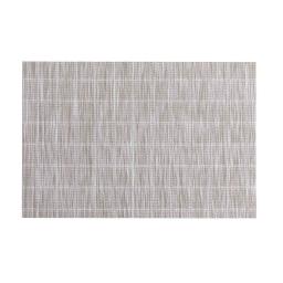 Set de table 30 x 45 cm pvc couki Taupe/blanc