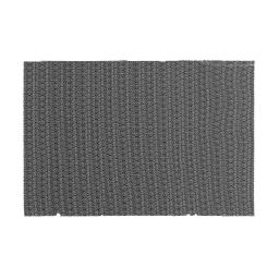 Set de table 30 x 45 cm pvc saxo Noir/blanc
