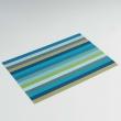 Set de table 32 x 47 cm pvc melix Raye bleu, image n° 1