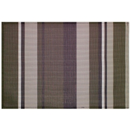 Set de table 32 x 47 cm pvc silky Raye choco