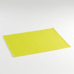 Set de table 33x45 coton uni radis Vert
