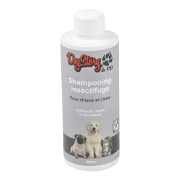 shampooing insectifuge pour chat et chien - 200ml