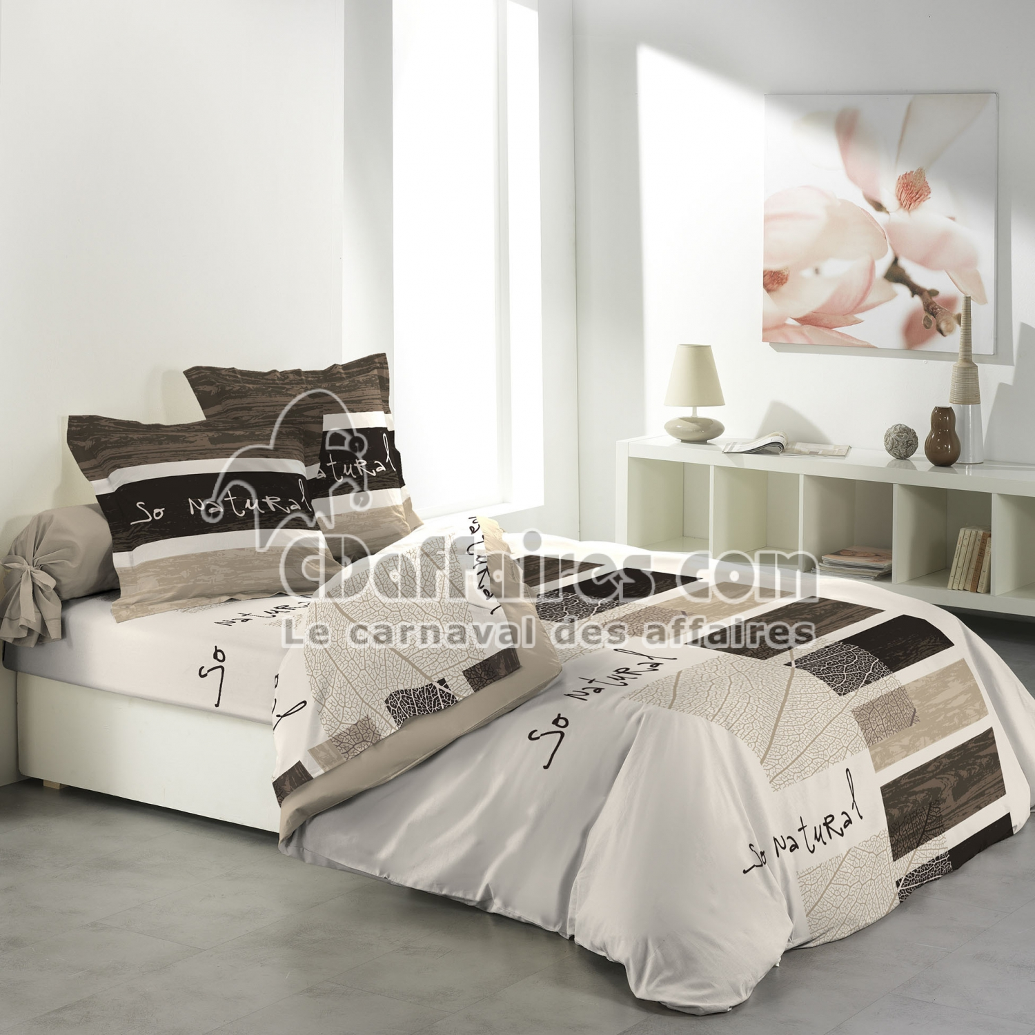parure couette drap cdaffaires. Black Bedroom Furniture Sets. Home Design Ideas