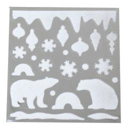 sticker-ours-matiere: pvc et velvet-30*32cm