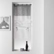 Store droit a passants 90 x 180 cm voile uni+top imprime tunis Anthracite, image n° 1