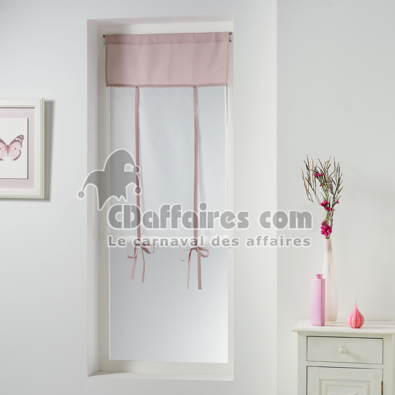 store droit passe tringle 60 x 150 cm polyester uni dentelle femina dragee cdaffaires. Black Bedroom Furniture Sets. Home Design Ideas