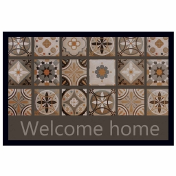 tapis d'entree rectangle 40 x 60 cm photoprint mosaik