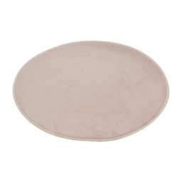 Tapis de bain (0) 60 cm microfibre unie vitamine Taupe