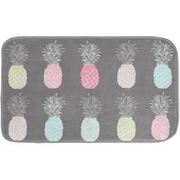 tapis de bain 45 x 75 cm microfibre imprimee allonanas des. place