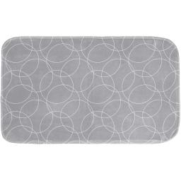 tapis de bain 45 x 75 cm microfibre imprimee eltoni des. place
