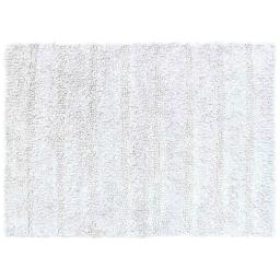 Tapis de bain 50 x 70 cm coton uni essencia Blanc