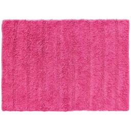 Tapis de bain 50 x 70 cm coton uni essencia Fuchsia