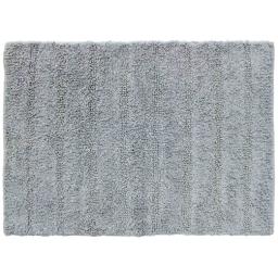 Tapis de bain 50 x 70 cm coton uni essencia Gris