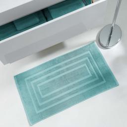 Tapis de bain 50 x 85 cm eponge unie vitamine Menthe