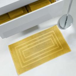 Tapis de bain 50 x 85 cm eponge unie vitamine Miel