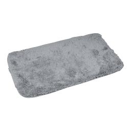 tapis de bain chinchilla microfibre 50*80cm vitamine gris clair