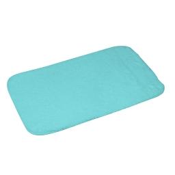 tapis de bain chinchilla microfibre 50*80cm vitamine vert menthe