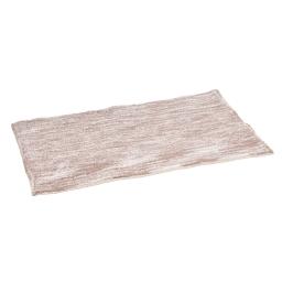 tapis de bain coton 50*80cm marbré taupe