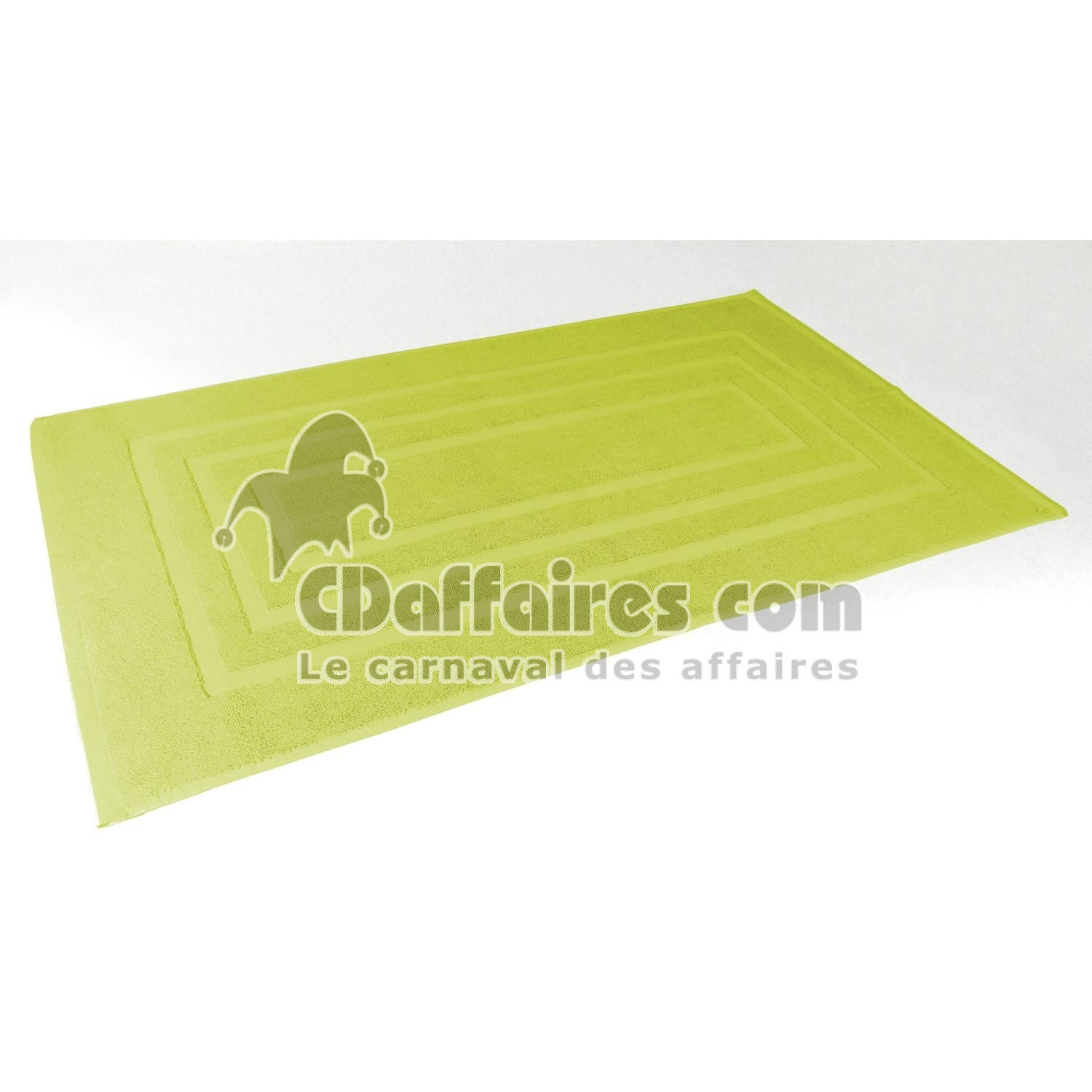 tapis de bain ponge vert 50x85 cm 100 coton ebay. Black Bedroom Furniture Sets. Home Design Ideas