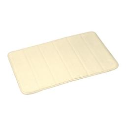 Tapis de bain memoire de forme microfibre 40*60cm vitamine Naturel