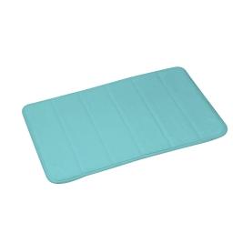 tapis de bain mémoire de forme microfibre 40*60cm vitamine vert menthe