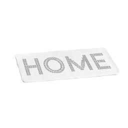 tapis de bain microfibre 45*75cm glitter home blan