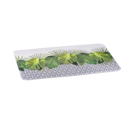 tapis de bain microfibre 45*75cm graphic jungle