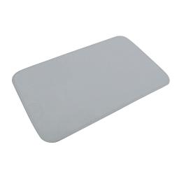 tapis de bain microfibre 45*75cm vitamine gris clair